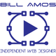 Bill amos independent web designer logo