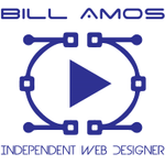 Bill amos independent web designer profile image.