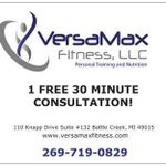 VersaMax Fitness Personal Training and Nutrition profile image.
