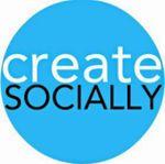 Create Socially profile image.