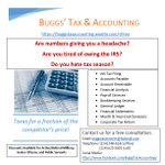 Buggs Tax and Accounting Services profile image.