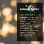 Serenity Landscape Lighting profile image.