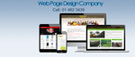 Web Page Design Company profile image.