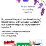 Purple Feather Accounting profile image.